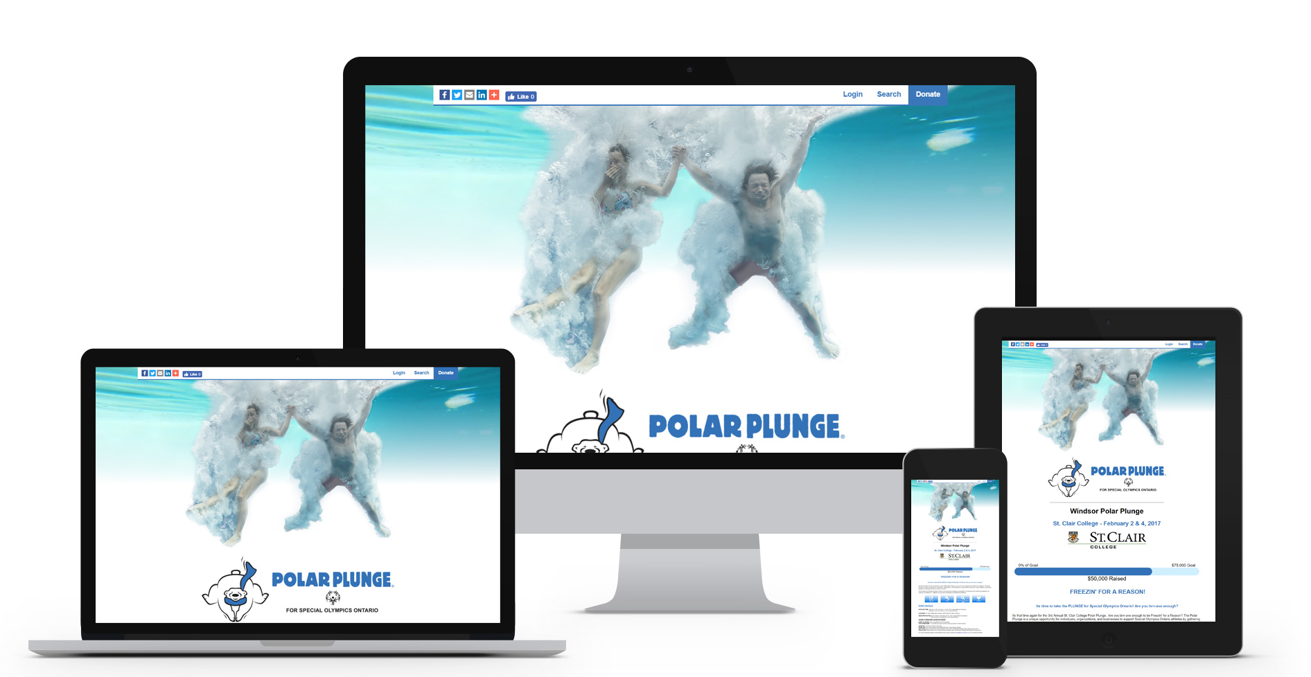 Special Olympics of Ontario - Polar Plunge