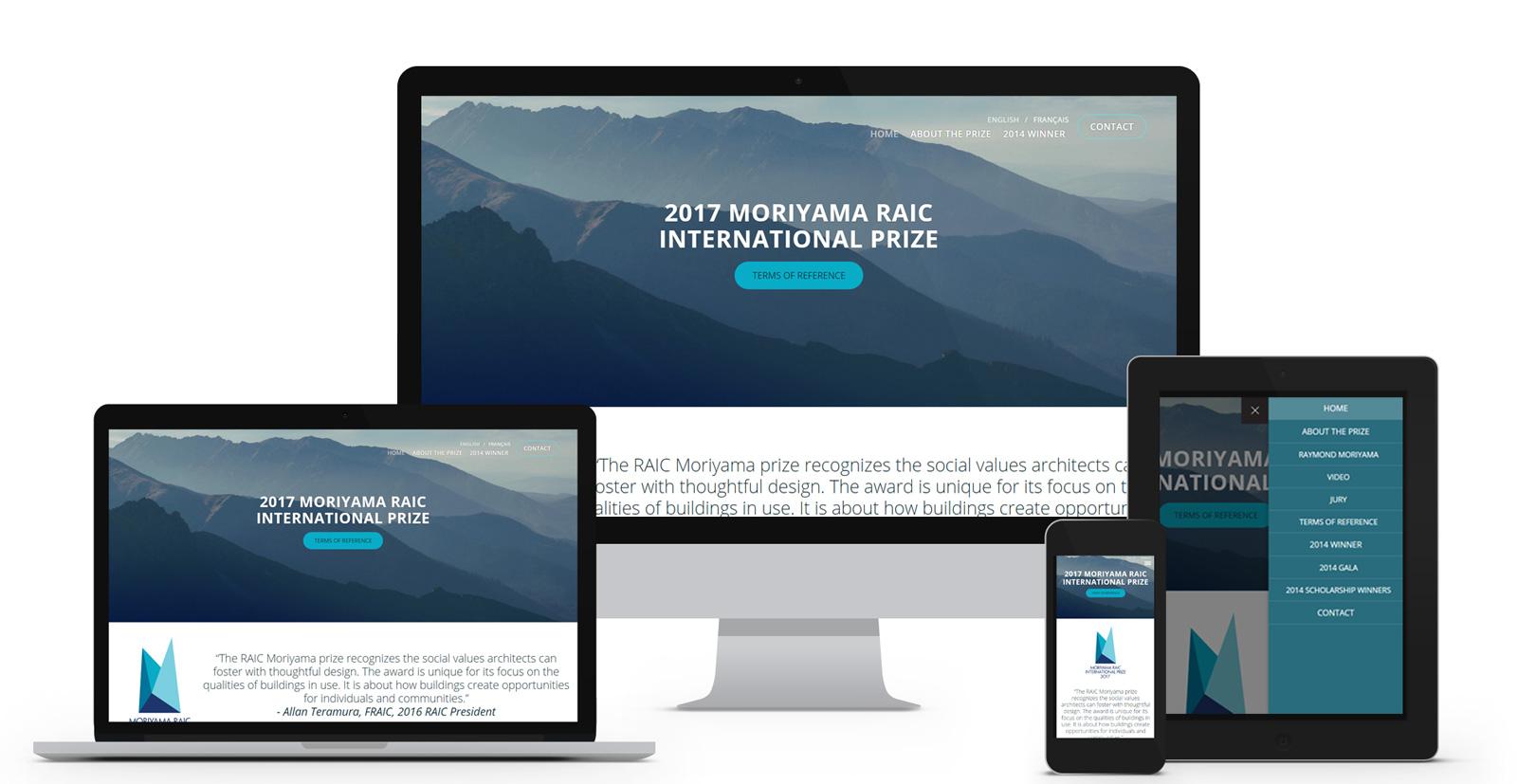 RAIC Moriyama prize -  Royal Architectural Institute of Canada