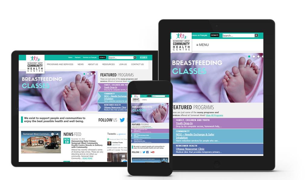 Somerset West Community Health Centre - Mobile Website